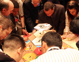 Image of people playing a game