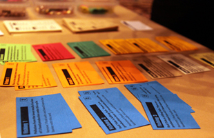 Image of Cards in a Board Game