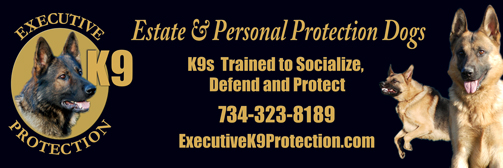 Sample Banner for Estate & Personal Protection Dogs